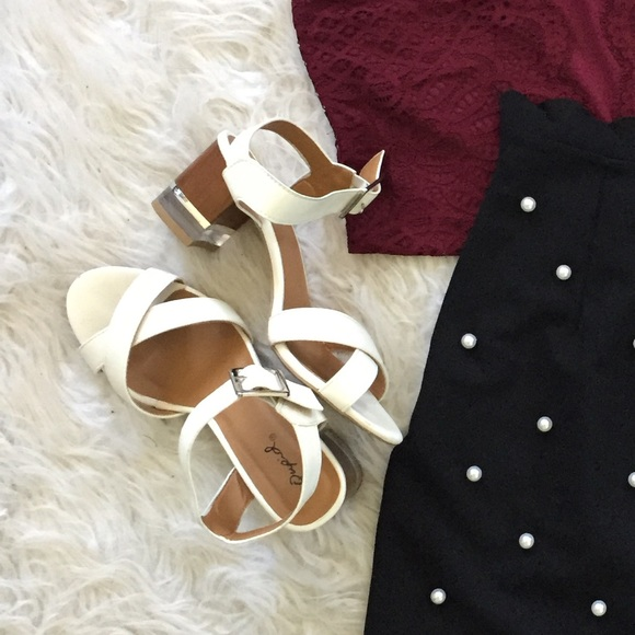 Shoes - Clear Heeled Sandals
